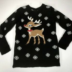 Rue 21 Womens Christmas Sweater Tunic Style XS